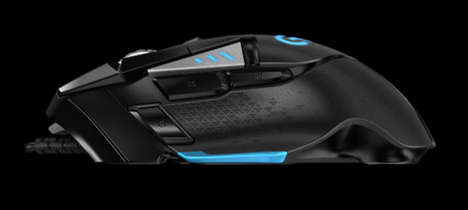 Precise Robot-Like Peripherals - The New Logitech G502 Mouse Takes Gaming to Another Level