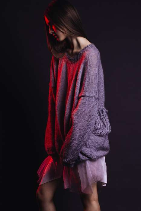 Moodily Layered Fashion Shoots - Last Cold Days by Kasia Holopiak is Full of Light Knits