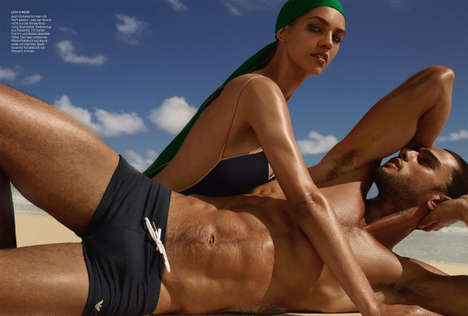 Sultry Beach Photography - Harpers Bazaar