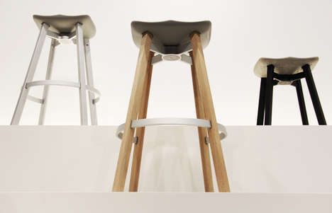 Recycled Barn Wood Chairs - The SU Collection by Emeco and Nendo in Eco-Friendly