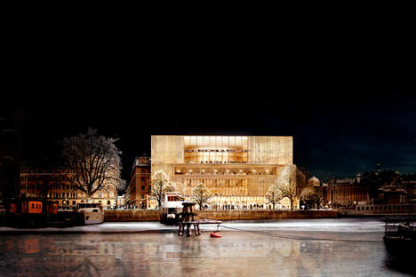 Stoic Prize-Winning Headquarters - David Chipperfield Will Design the Nobel Center in Stockholm