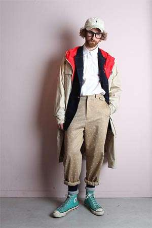 Quirky Hipster Menswear - The Yuge Fall/Winter 2014 Collection Will Delight Hipsters Everywhere