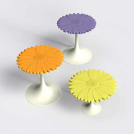 Flower-Shaped Tables - The Serralunga 2014 Outdoor Furniture Line is Colorful and Contemporary