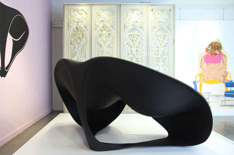 Ocean-Inspired Seating - Zaha Hadid Creates the Manta-Ray Chair