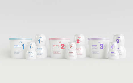 Numeric Baby Food Branding - SMA Infant Nutrition Provides Three Food Products for Growing Babies