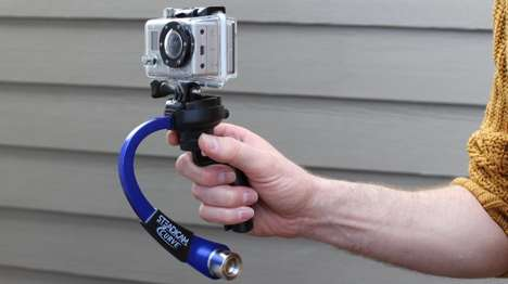 Quick-Stabilizing Camcorder Rigs - The Steadicam Curve Helps GoPro Hero Cameras Capture Stable Shots
