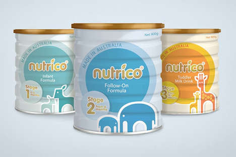 10 Cases of Cute Baby Food Branding - From Purist Formula Packaging to Simplistic Recession Labels