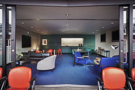 Luxe Lounge Stadium Makeovers - Wembley Stadium Gets Transformed into a Hip Oasis for Professionals