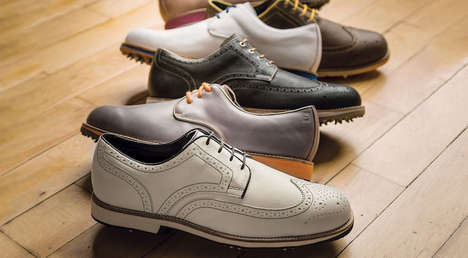Effortlessly Stylish Golf Shoes - These Shoes Will Be Released Right After the 2014 Golf Masters
