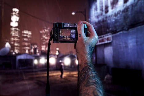 Video Game-Inspired Photography - This Grand Theft Auto Photo Series Mixes the Virtual with Reality