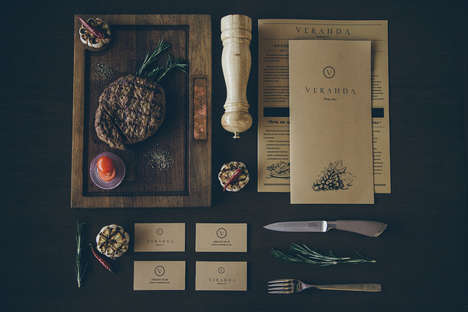 Timeless Vintage Restaurant Branding - Veranda's New Look is the Ultimate In Homey Brand Identities