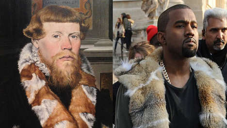 Iconic Rapper Painting Makeovers - Blog B4XVI Compares Rap Music Artists and Famous Paintings