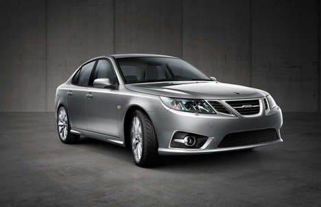 Revolutionary Electric Cars - The SAAB 9-3 EV Electric Car Combines Vintage Design with New Tech