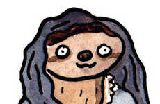 These Game of Thrones Sloths are Watercolor Paintings