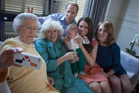 Fake Royal Family Selfies - This Regal Selfie Was Unfortunately Just Snapped by Royal Look-Alikes