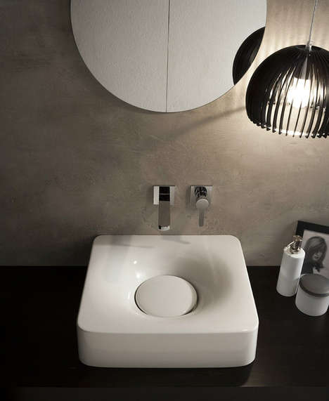 Soft Ceramic Sinks - Fuji by Emo Design Embraces the Fluidity of Water
