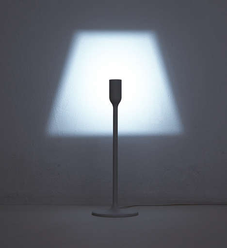 Silhouette-Shaping Lamps - The YOY Floor Light is a Lamp That Shines a Lampshade-Shaped Light