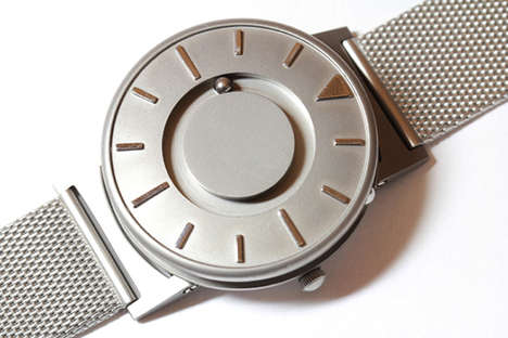 Touch-Sensitive Timepieces - The Bradley is a Stylish Touch-Sensitive Timepiece for the Blind
