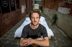 Nonstop Standing Stunts - Jamie Green Will Stay Upright for 24 Hours for His Social Business