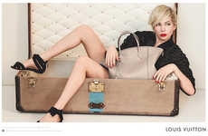 Travel-Themed Fashion Ads - The Louis Vuitton Handbag Spring 2014 Campaign Stars Michelle Williams