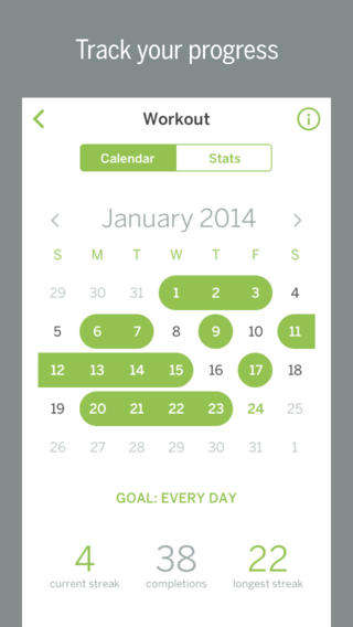 Habit Tracker Apps - Habit List Helps You Set Goals and Develop a Habit Over Time