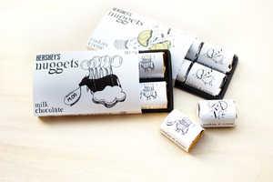Eddie Sim's Chocolate Bar Wrapper Concept Evokes Childhood