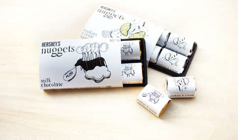 Whimsical Chocolate Bar Wrappers - Eddie Sim