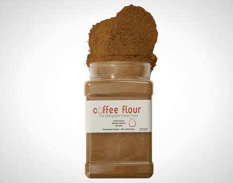 Aromatic Caffeinated Baking Flours - This Coffee Baking Flour Has a Deliciously Sweet Flavor