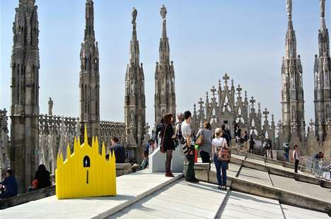 Cathedral-Inspired Cuckoo Clocks - These Cuckoo Clock Designs Support the Upkeep of Milan