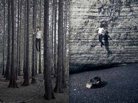 Surreal Jumping Photography - Le Saut by Victoire Le Tarnec Captures Weightless Figures in the Air