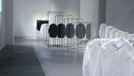 Minimalist Fashion Installations - Nendo X COS Come Together to Form an Artistic Installation