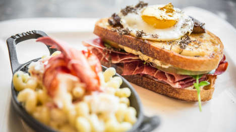 High-Stakes Grilled Cheeses - The Zillion Dollar Grilled Cheese is Exclusively for High Rollers