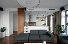 Modern Automated Homes - SVOYA Studio Designs an Easy and Chic Family Residence