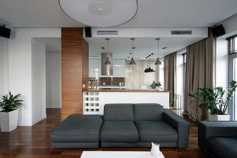 European Automated Apartments - An Apartment in Ukraine Could be the New Studio Layout