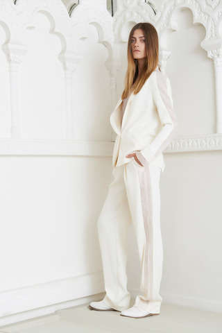 Laid-Back Blazer Fashions - The Anne Valérie Hash Resort 2014 Collection is Nonchalant