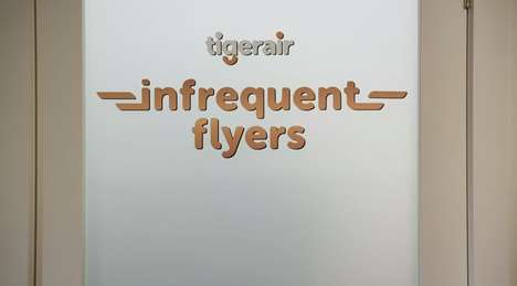 Unprivileged Membership Cards - Tigerair Now Has an Infrequent Flyers Club to Make All Feel Included