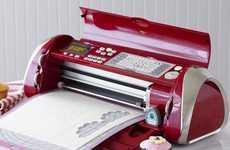 Speedy Fondant Printers - The Cricut Cake Decorating Machine Makes Edible Artistry a Snap