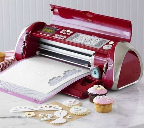 Speedy Fondant Printers - The Cricut Cake Decorating Machine Makes Edible Artistry a Snap
