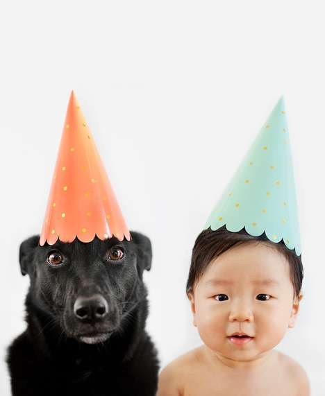 Canine Kid Captures - Grace Chon Pairs Images of Her Son with a Rescue Dog