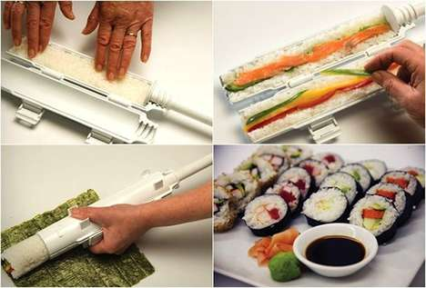 Simplified Sushi Rollers - The Sushezi is the Ideal Device for Sushi Lovers