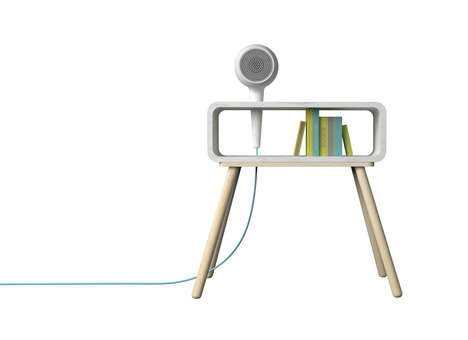 Electric Gadget Furnishings - Technical Furniture Collections are Launching at Milan Design Week