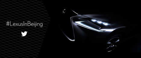Rapid Fire Auto Campaigns - Lexus Will Deliver a Speedy Recap of the Beijing Motor Show 2014
