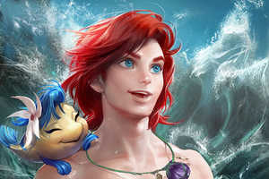 Deviantartist Sakimi Chan Creates Gender-Swapped Disney Characters