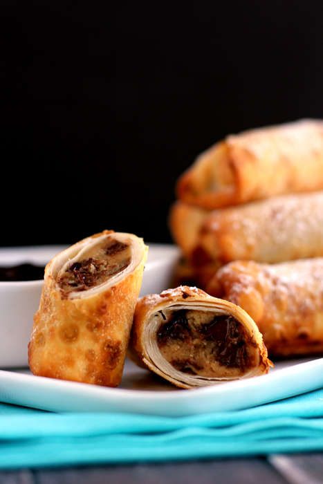 Asian Confectionery Mash-Ups - This Sweet Egg Roll Mashes Up a Multitude of Sweet Treats