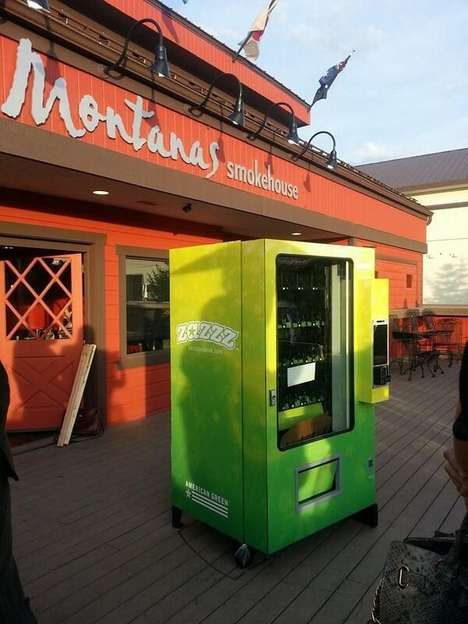 Cannabis Vending Machines - This Marijuana Dispensing Machine was Installed for 420 2014
