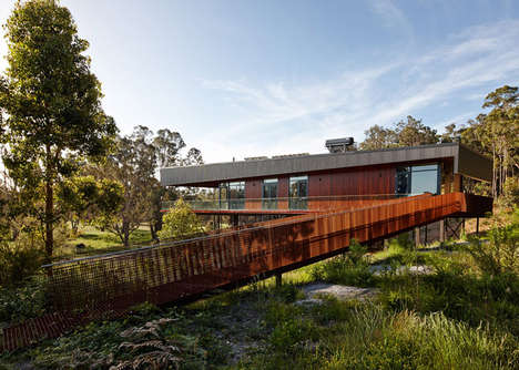 Environmentally Conscious Wildlife Havens - This Contemporary Barn Home is Stunning and Sustainable