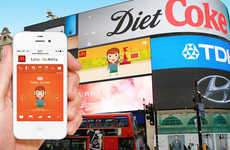 Interactive Avatar-Making Billboards - McDonald's Little Piccadilly is an Interactive Advertisement