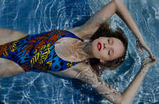 Isadora Vieira Spends Her Whole Day at the Pool in 'Et Blue'