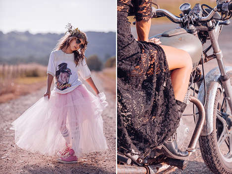 Breezy Bohemian Editorials - The Wanderer Fashion Lookbook is Kissed by the Summer Breeze