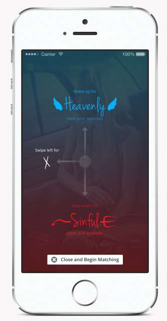 Intention-Directed Dating Apps - The HeavenlySinful App Takes Your Intentions into Consideration